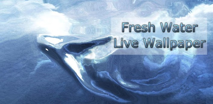Fresh Water S3 Live Wallpaper